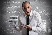 税和危机 — 图库照片