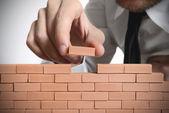 строить новый бизнес — Стоковое фото
