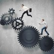 Business mechanism system — Stock Photo