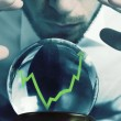 Forecasts of the financial crisis — Stock Photo #17597407