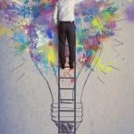 Creative business idea — Stock Photo