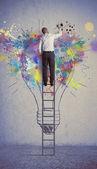 творческий бизнес-идея — Стоковое фото