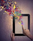 креативные технологии — Стоковое фото