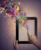 Kreativ teknologien — Stockfoto