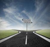 выберите правильный путь — Стоковое фото