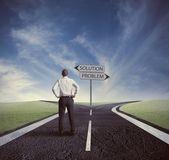 Escolher a maneira correta — Foto Stock