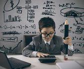 Jeune gestionnaire — Photo