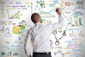 Moderno conceito de negócio — Foto Stock