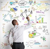 современный бизнес концепция — Стоковое фото