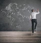 глобальный бизнес — Стоковое фото