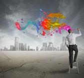 творческий бизнес — Стоковое фото