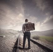 Travel for business — Stock Photo