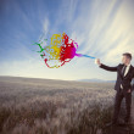 kreative im Geschäft — Stockfoto