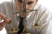 Verdienen evenwicht — Stockfoto