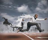Desafío en el negocio — Foto de Stock