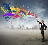 Creatividad en los negocios — Foto de Stock