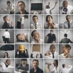 affärs-, kris- och problem-konceptet — Stockfoto