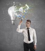 Idée de création d'entreprise — Photo