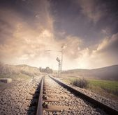 Railroad — Stock fotografie