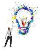 Kreativní podnikatelský nápad — Stock fotografie