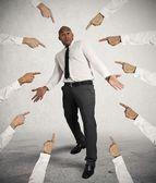 Empresário acusado — Foto Stock
