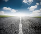 The road for the success — Foto Stock