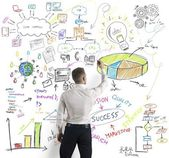 Concepto de negocio moderno — Foto de Stock