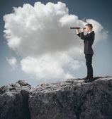 Mira para el futuro — Foto de Stock