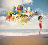 Summer explosion — Stock Photo