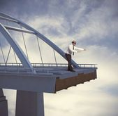 Difficulty and problems in business — Stock Photo