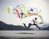 Rapide de création d'entreprise — Photo