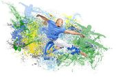 Explosion of dance — Stock Photo