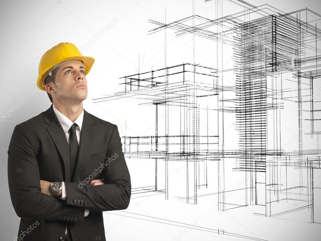 Arquitecto y proyecto de edificios modernos foto de - Cm arquitectos ...