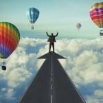 başarıya giden yol — Stok fotoğraf