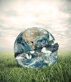 Garbage world — Stock Photo