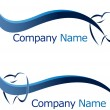 Stock Vector: Dental logo company name