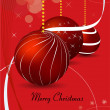 Christmas composition — Vector de stock #29927079