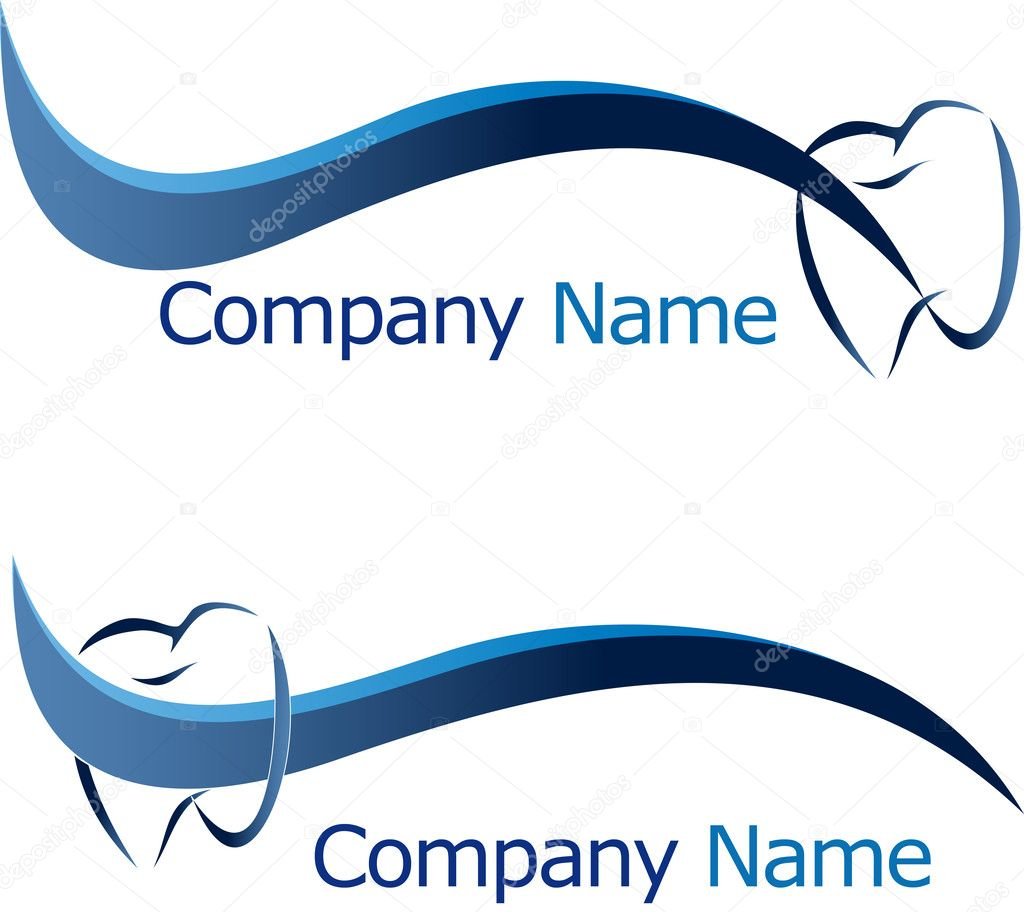 Dental Logo Vector Dental Logo Company Name