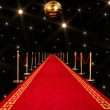 Red carpet entrance — Stock Photo