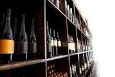 Bottle in tavern — Stock Photo