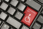 Internet accessibility concept — Stock Photo