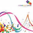 Stockvector : Abstract background for Company Slogan