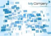 公司口号的抽象背景 — 图库矢量图片