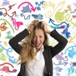 Difficult choices in business — Stock Photo