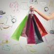 Stock Photo: Shopping concept