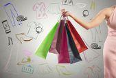 Shopping concept — Stock Photo