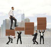 Success of teamwork — Stock Photo