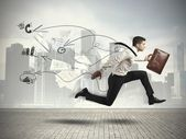 Fast business — Stock Photo