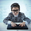Young programmer — Stock Photo #34977699