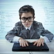 Stock Photo: Young programmer